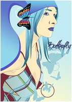 Butterfly Girl by IsabellaxParadise
