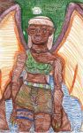 Rio Negro Clan Follower - Colored by LovelyLadyGray