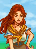 Malon Speed Paint by RoyLover