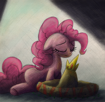 Pinkie says Buenas Noches - Never Forget by Hewison