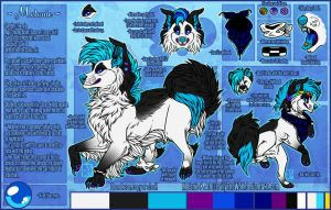 .: Melanie Official Sheet Ref 2015 :. by SillyTheWolf