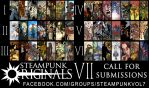 Steampunk Originals Volume 7: Call for Submissions by SteampunkOriginals
