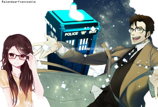 Doctor Who Anime by RaianDwarfvenCookie