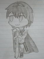 Second chibi Marth by The-fox-of-wonders