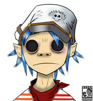 2D Plastic Beach COLORED by RCKNP