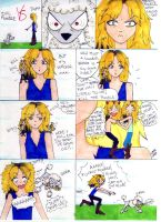 GnR: Duff VS Evil Poodle by Serenity-Moon