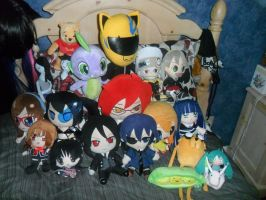 My Whole Plushie collection by KathytheGoth