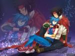 Domon and Allenby by retrozero