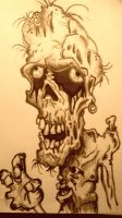Zombie pencil PS by MayanMuscle