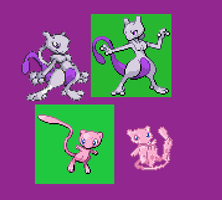 Mew Duo Sprite Revamp by RPD490