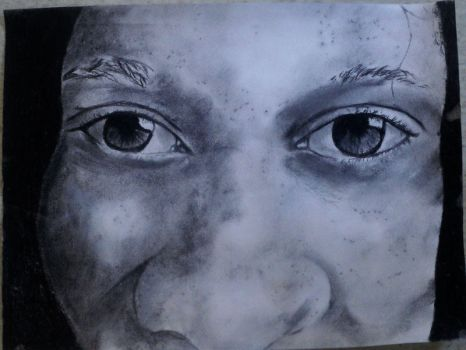 Charcoal close up by Netta628