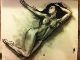 Charcoal Nude by OBSERVER7604