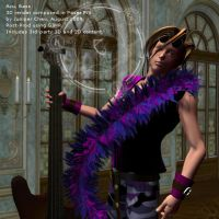 3D Visual Kei Band, Bassist by ibr-remote