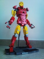 Lego Iron Man MKIV by Innershade