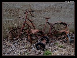 Rusty Bikes by boron