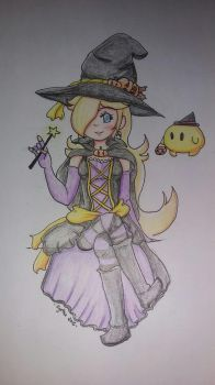 Witchy Rosalina by PaperCyn