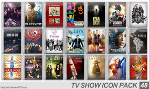 TV Show Icon Pack 48 by FirstLine1