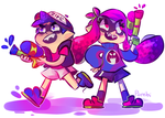 Gravity Squids by pombity