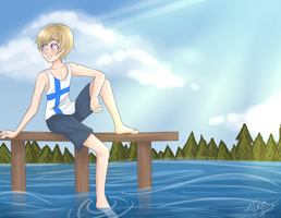 APH: Finland in Summertime by flamingmarshmallows