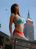 Asian Giantess by megazelda53