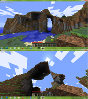 My most amazing Minecraftworld by Kamaite