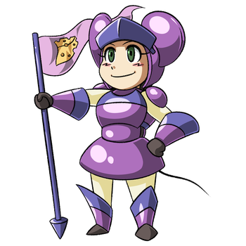 Mouse Knight by VR-Hyoumaru