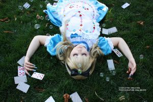 Alice in Wonderland - Dreaming by kirawinter
