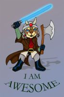 I am awesome by Skychaser