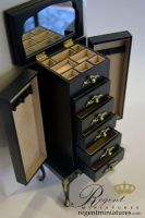 Jewelry Armoire by regentminiatures