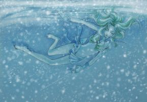 Michiru. Submerge in my dreams by Suryakami