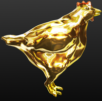 Gold Chicken by Seitira