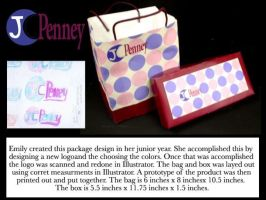 JCPenny box and bag by Em-E-chan