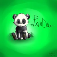 A Doodle of a Panda by X-x-OcToBeR-x-X