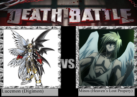 Angel Death Battle: Lucemon vs. Minos by DinoLover09