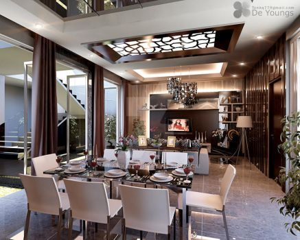 DINING N LIVING ROOM, SURABAYA by TANKQ77