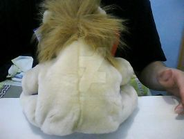 Lion Plushie (Back View) by kasalieyafet