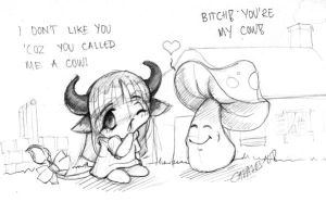 The Cow and Dick by Cavalos
