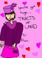 Spamalot Card Huge tracts of land by booper101