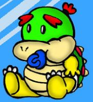 Baby Bowser by cgaussie