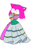 Estellise as a Sonic-Style Princess by Tommypezmaster