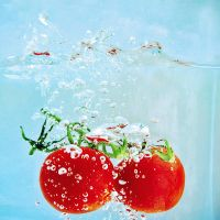 splashy tomatoes by ByLaauraa