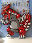 LEGO Groudon by ProfMadness