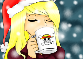 [Gift ] Leena Coffee  Christmas by Ariane-Wesker