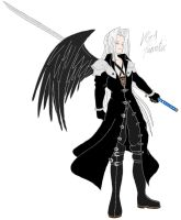 Sephiroth by VGAfanatic