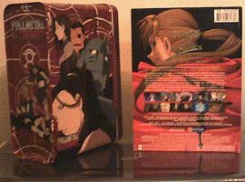 FMA DVDs from behind by Okitakehyate