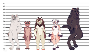 Height chart by s-trawberrymilk