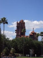 The Hollywood Hotel.. TOWER OF TERROR by Dark-dragon99