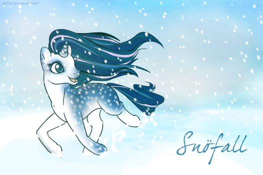 snofall gift for shaiyeh by ankin