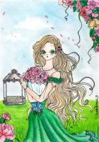 Rose in the roses.. by RoseValentineSwan