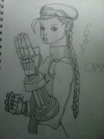Cammy from street fighter by gbftattoos